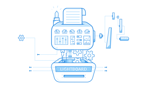 How Lightboard works